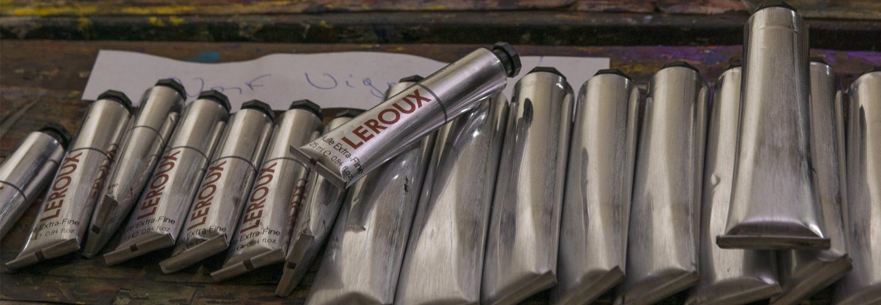 Manufacture Leroux - Fabricant de couleurs à l'huile extra-fines depuis 1910