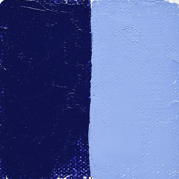 Bleu De Cobalt Foncé Véritable
