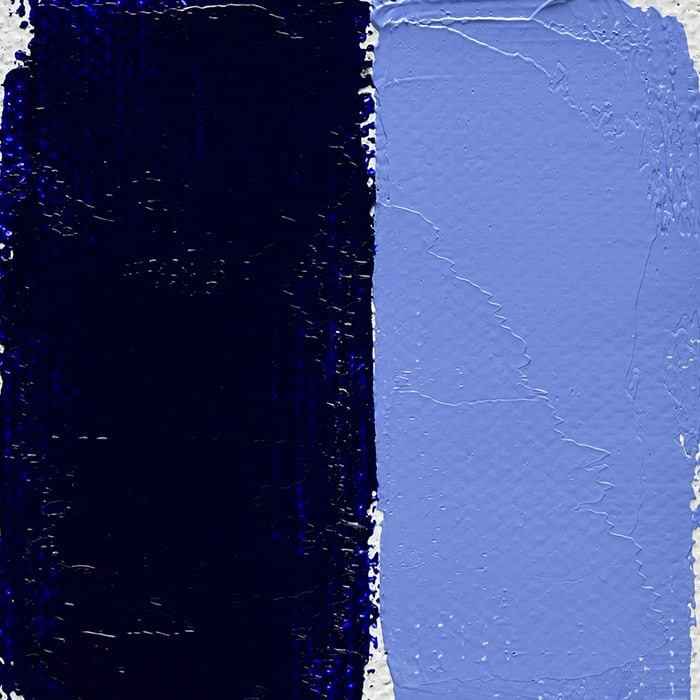 Bleu Outremer Foncé Véritable