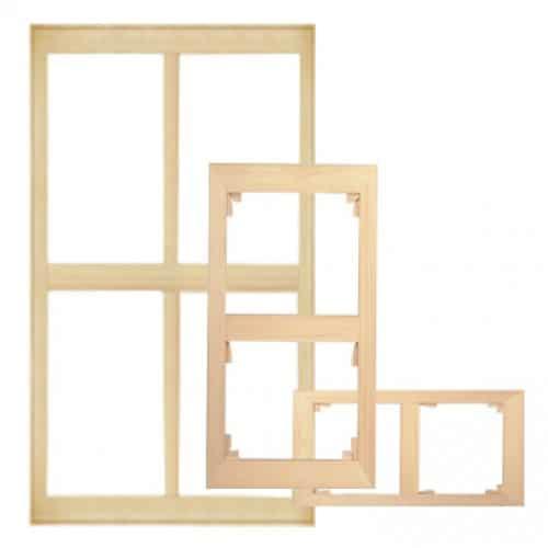 châssis format double carré
