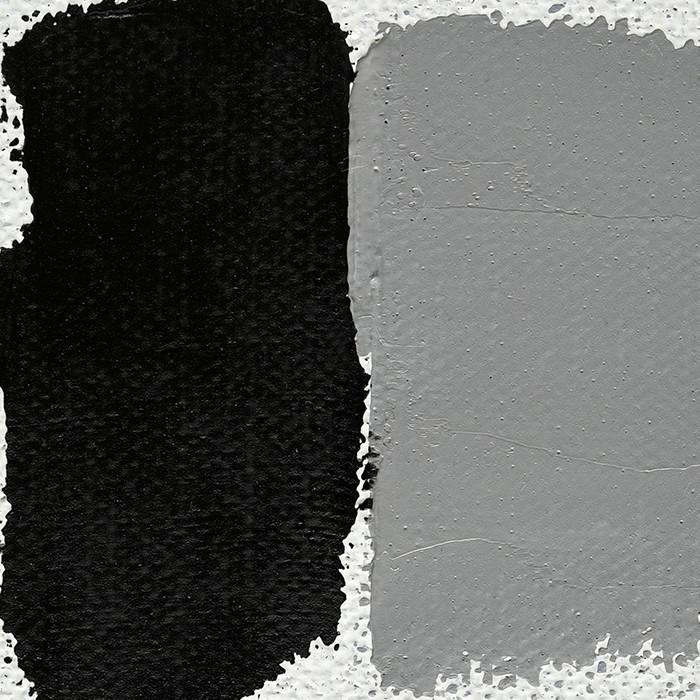Noir De Mars Peinture à Lhuile Extra Fine Couleurs Leroux