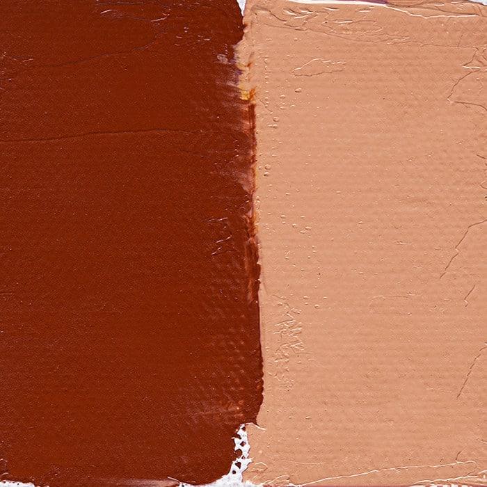 pot et tube de peinture l 39 huile ocre rouge gamme etude leroux. Black Bedroom Furniture Sets. Home Design Ideas