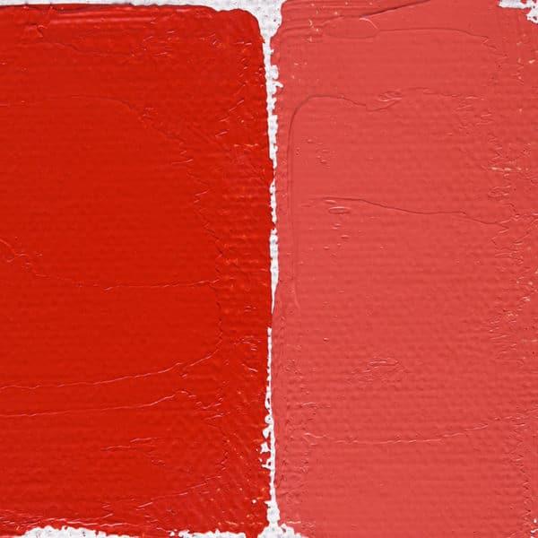 peinture rouge au cadmium clair