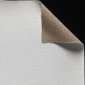 Toile pur lin - Enduction huile 2 couches - Grain moyen - cf 17