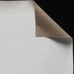 Toile pur lin - Enduction huile 2 couches - Grain fin - cf 41