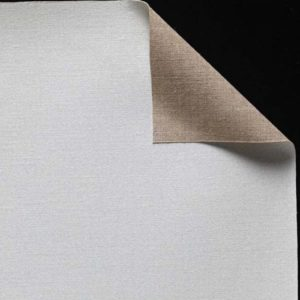 Toile pur lin - Enduction huile 2 couches - Grain très fin - cf 51