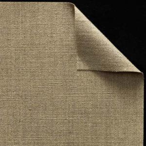 Toile vierge pur lin - Encollée - Grain trés fin - cf 81