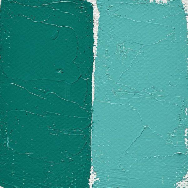 peinture-vert-bleute-cobalt-clair-veritable