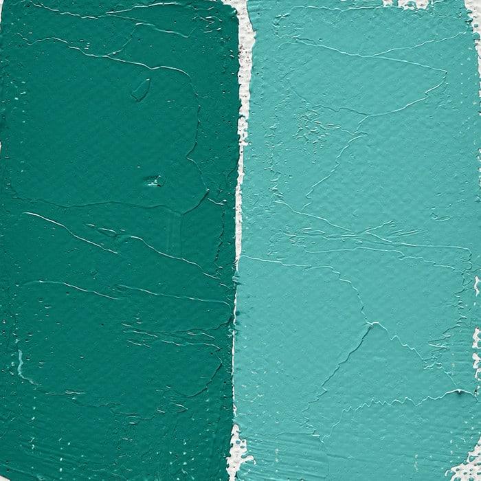Peinture à Lhuile Extra Fine Vert Bleuté De Cobalt Clair Couleurs