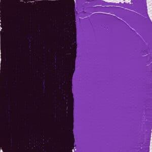 peinture violet bleu Leroux