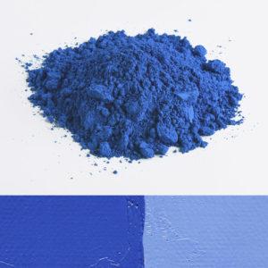 pigment bleu azur