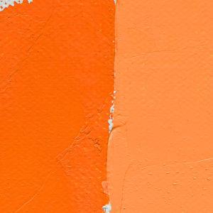 Peinture à l'huile Orange Vif