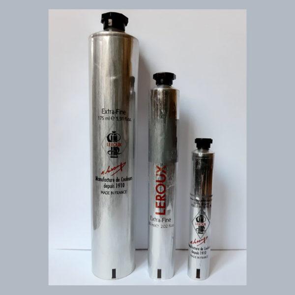 Tubes vide en aluminium à remplir