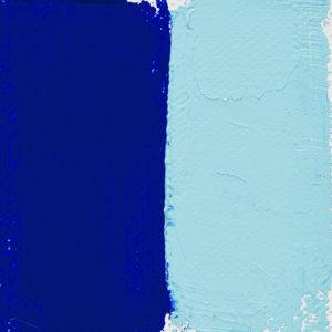 Bleu cobalt clair océan