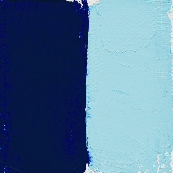 Bleu cobalt foncé océan véritable
